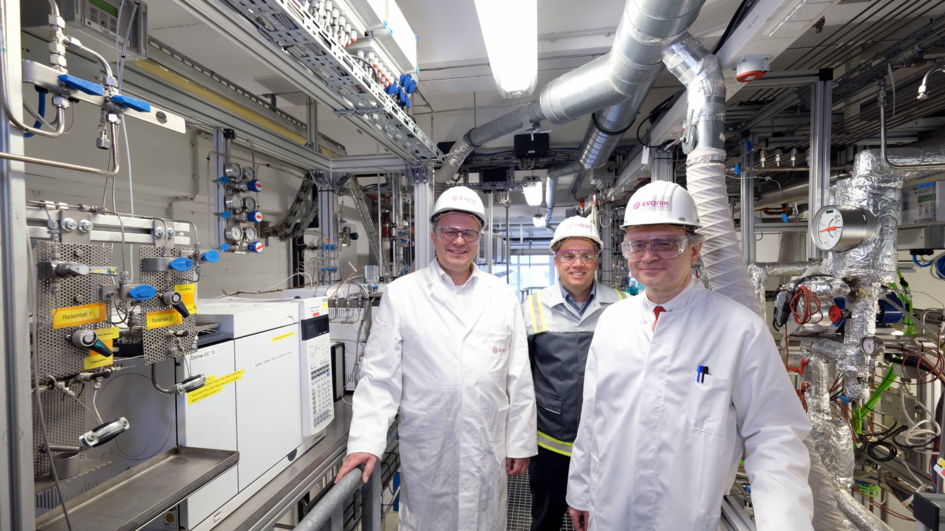 The project team (from left to right): Dr. Frank Stenger, Dr. Marc-Oliver Kristen, Prof. Dr. Robert Frank(photo was taken before February 2020)